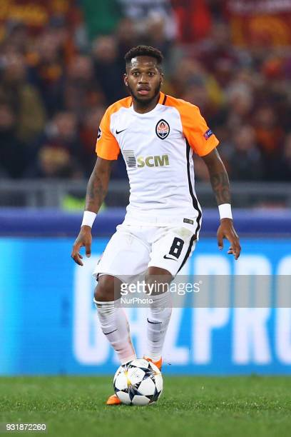 UEFA Champions League Round of 16 Second leg Fred of Shakhtar Donetsk at Olimpico Stadium in Rome Italy on March 13 2018