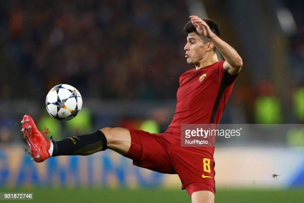 UEFA Champions League Round of 16 Second leg Diego Perotti of Roma at Olimpico Stadium in Rome Italy on March 13 2018