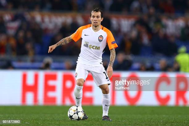 UEFA Champions League Round of 16 Second leg Bernard of Shakhtar Donetsk at Olimpico Stadium in Rome Italy on March 13 2018