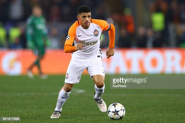 UEFA Champions League Round of 16 Second leg Taison of Shakhtar Donetsk at Olimpico Stadium in Rome Italy on March 13 2018