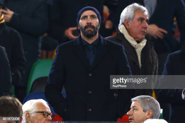 UEFA Champions League Round of 16 Second leg Roma sport director Ramon Rodriguez Verdejo now as Monchi at Olimpico Stadium in Rome Italy on March 13...