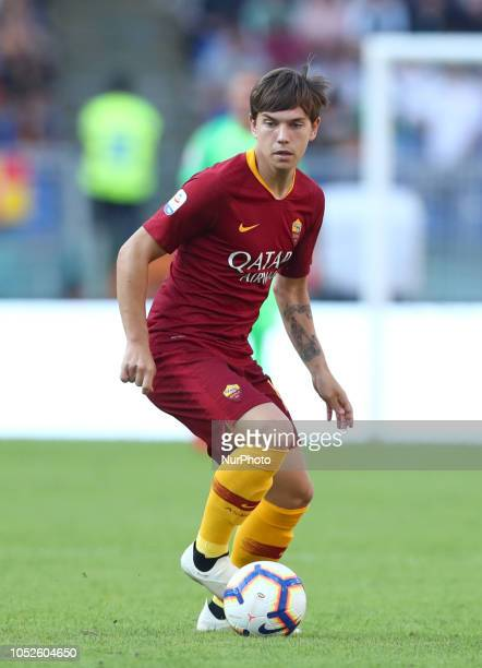 AS Roma v Spal Serie A Ante Coric of Roma at Olimpico Stadium in Rome Italy on October 20 2018