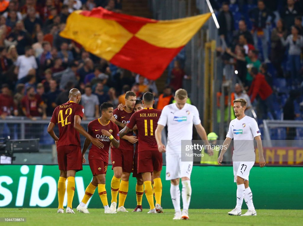 AS Roma v Viktoria Plzen - UEFA Champions League Group G : News Photo
