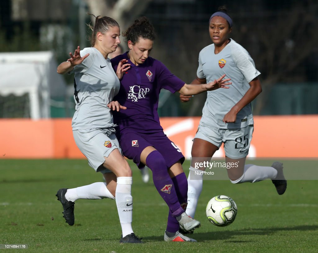 As Roma Women V Fiorentina Women Fc Serie A Women Ilaria Mauro Of