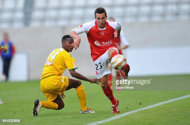 Romain AMALFITANO / Chaker ALHADHUR Reims / Nantes Coupe de la Ligue Photo Dave Winter / Icon Sport