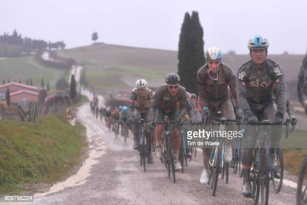 Romain Bardet from France Eroica / Siena Siena on March 3 2018 in Siena Italy