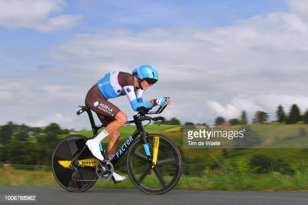 Romain Bardet of France and Team AG2R La Mondiale / during the 105th Tour de France 2018, Stage 20 a 31km Individual Time Trial stage from...