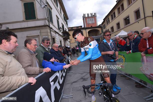 Romain Bardet of France during the 53rd TirrenoAdriatico 2018 / Stage 2 a 172km stage from Camaiore to Follonica on March 8 2018 in Follonica Italy