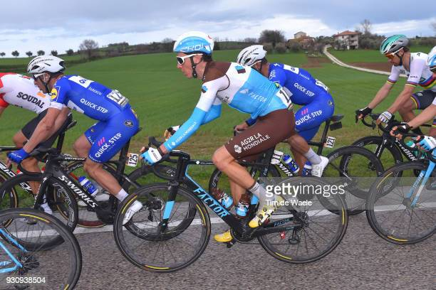 Romain Bardet of France during the 53rd TirrenoAdriatico 2018 Stage 6 a 153km stage from Numana to Fano on March 12 2018 in Fano Italy