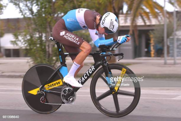 Romain Bardet of France during the 53rd TirrenoAdriatico 2018 Stage 7 a 105km Individual Time Trial stage in San Benedetto Del Tronto on March 13...