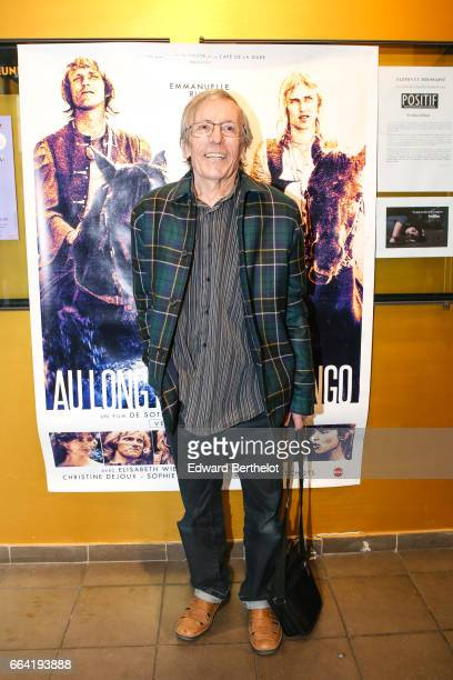 Romain Bouteille attends the 'Au Long De La Riviere Fango' Paris Premiere At Le Luminor on April 3 2017 in Paris France