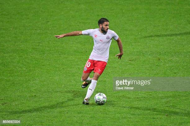 Romain Del Castillo of Nimes during the Ligue 2 match between Paris FC and Nimes on September 29 2017 in Paris France