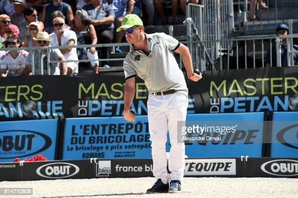 Romain Fournie competes during the Masters of Petanque 2017 on July 13 2017 in RomanssurIsere France
