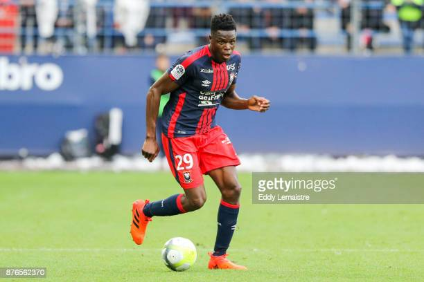 Romain Genevois of Caen during the Ligue 1 match between SM Caen and OGC Nice at Stade Michel D'Ornano on November 19 2017 in Caen