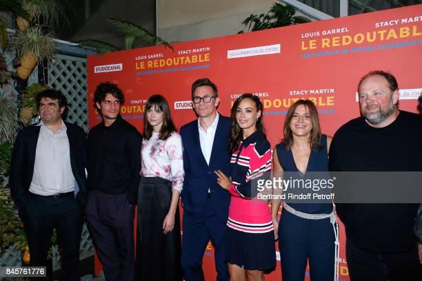 Romain Goupil Team of the movie actors Louis Garrel Stacy Martin director Michel Hazanavicius actress Berenice Bejo coproducer Florence Gastaud and...