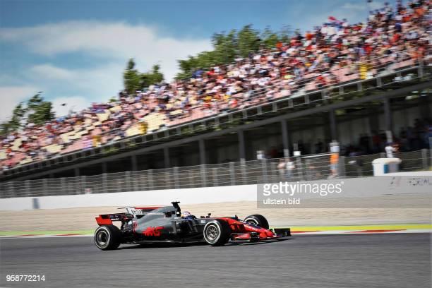 Romain Grosjean, Haas, F1 Team, formula 1 GP, Spanien in Barcelona