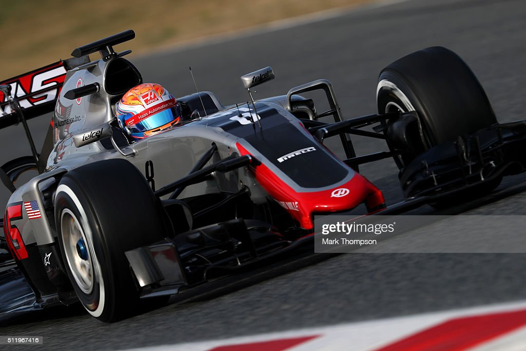 F1 Testing In Barcelona - Day Three : News Photo