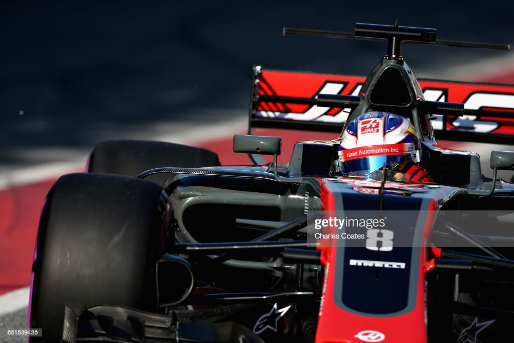 F1 Winter Testing In Barcelona - Day Four : News Photo