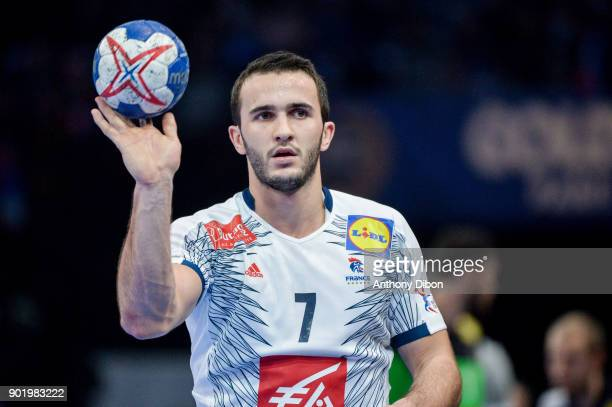 Romain Lagarde of France during Golden League match between France and Egypt at AccorHotels Arena on January 6 2018 in Paris France