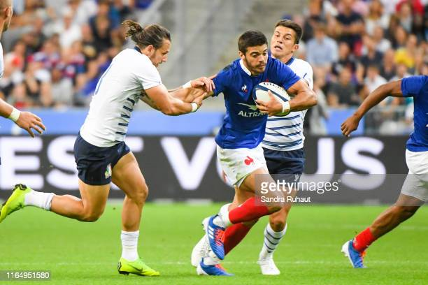 Romain Ntamack of France during the International Friendly match between France and Italy on August 30 2019 in Paris France