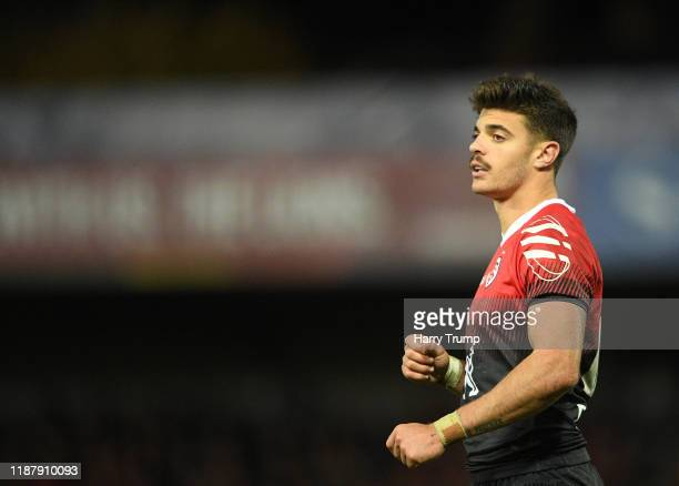 Romain Ntamack of Toulouse during the Heineken Champions Cup Round 1 match between Gloucester Rugby and Toulouse at Kingsholm Stadium on November 15...