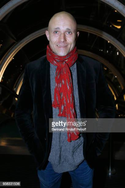 Romain Pompidou attends the 'Chagall Lissitzky Malevitch L'Avantgarde Russe a Vitebsk 19181922' Press Preview at Centre Pompidou on March 26 2018 in...