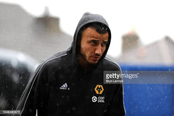 Romain Saiss of Wolverhampton Wanderers arrives at the stadium prior to the Premier League match between Crystal Palace and Wolverhampton Wanderers...