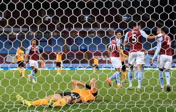 GBR: Aston Villa v Wolverhampton Wanderers - Premier League