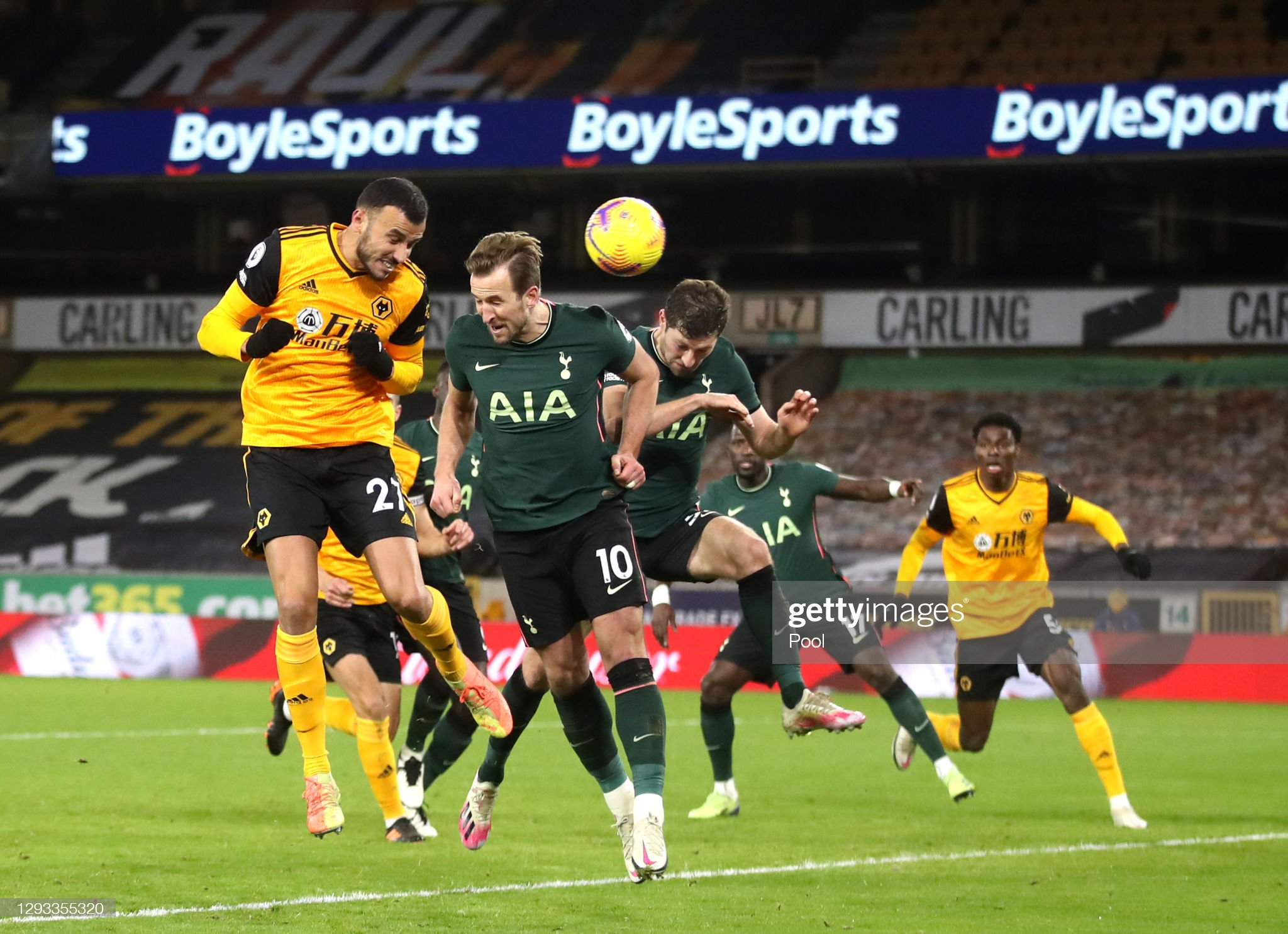 Wolverhampton Wanderers v Tottenham Hotspur - Premier League : News Photo