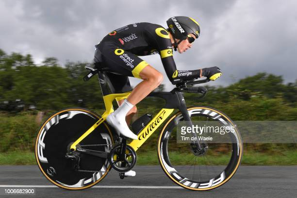 Romain Sicard of France and Team Direct Energie / during the 105th Tour de France 2018, Stage 20 a 31km Individual Time Trial stage from...