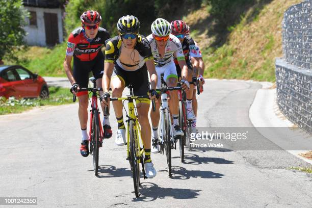 Romain Sicard of France and Team Direct Energie / Warren Barguil of France and Team Fortuneo Samsic / during the 105th Tour de France 2018 Stage 11 a...