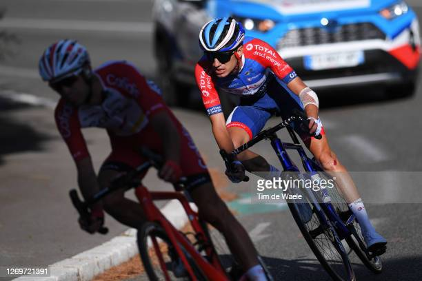 Romain Sicard of France and Team Total Direct Energie / during the 107th Tour de France 2020, Stage 2 a 186km stage from Nice Haut Pays to Nice /...