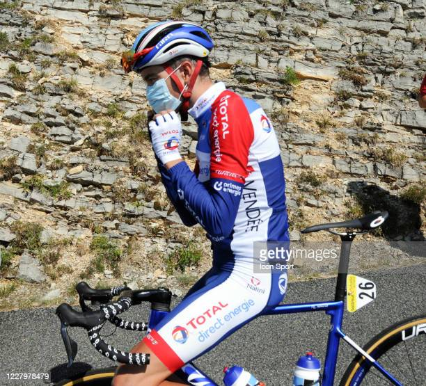 Romain Sicard of Total - Direct Energie. During the Tour de l'Ain - stage 3 from Saint Vulbas to Grand Colombier on August 9, 2020 in UNSPECIFIED,...