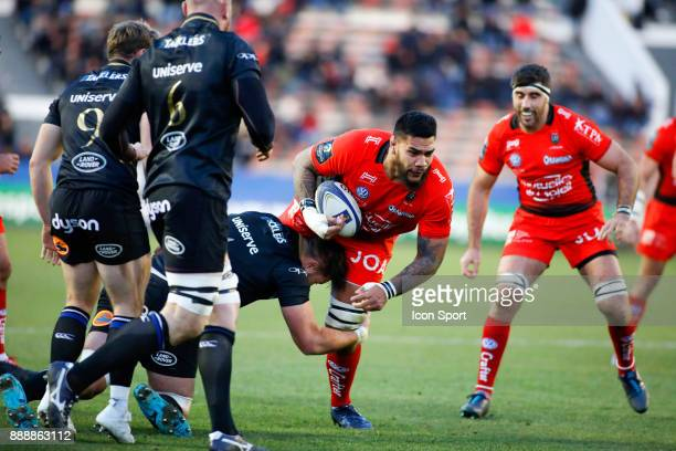 Romain Taofifenua of Toulon during the European Champions Cup match between RC Toulon and Bath on December 9 2017 in Toulon France