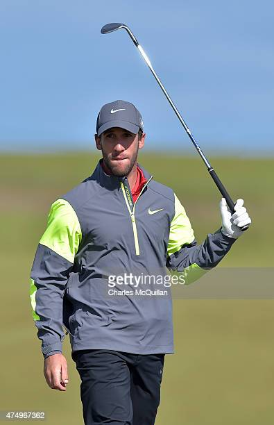 Romain Wattel of France during Day One of the Irish Open at Royal County Down Golf Club on May 28 2015 in Newcastle Northern Ireland
