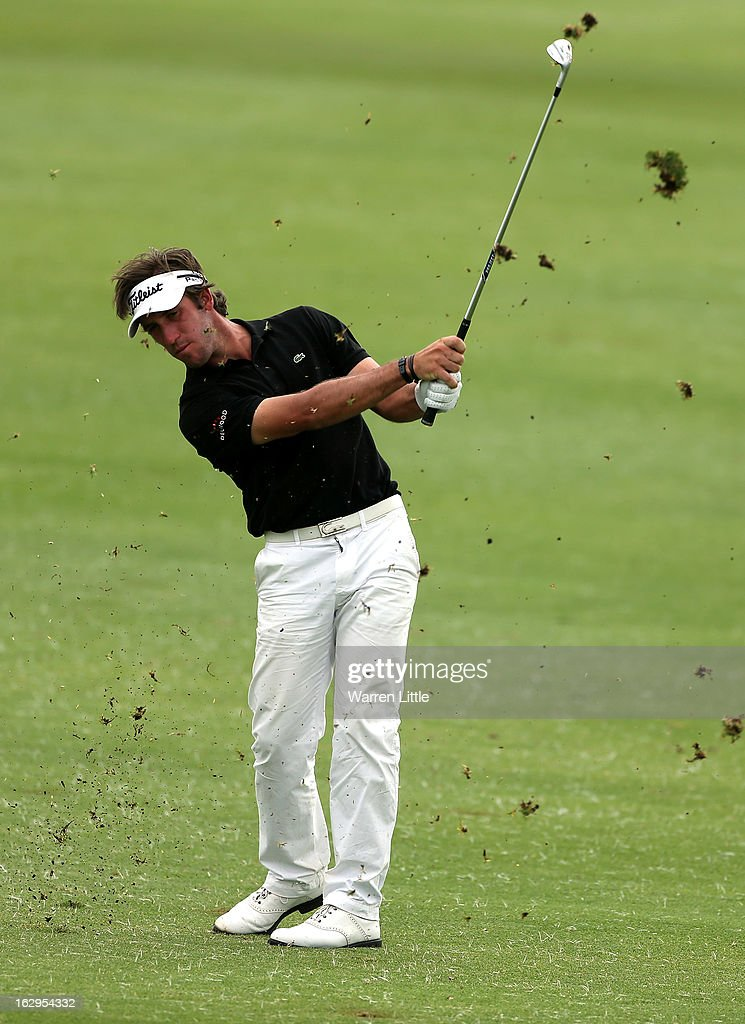 Romain Wattel of France in action during the third round of the Tshwane Open at Copperleaf Golf & Country Estate on March 2, 2013 in Centurion, South Africa.