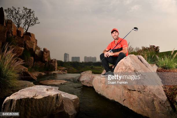 Romain Wattel of France poses for a picture during practice prior to the start of the Hero Indian Open at Dlf Golf and Country Club on March 7 2017...
