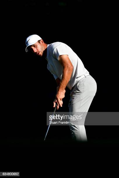 Romain Wattel of France putts during Day Four of the Maybank Championship Malaysia at SaujanaGolf Club on February 12 2017 in Kuala Lumpur Malaysia