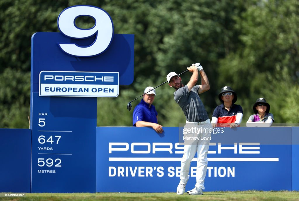 Porsche European Open - Day Three : News Photo