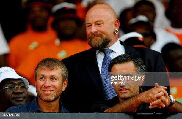 Roman ABRAMOVICH / Jose MOURINHO Cote d'Ivoire / Cameroun Eliminatoires Coupe du Monde