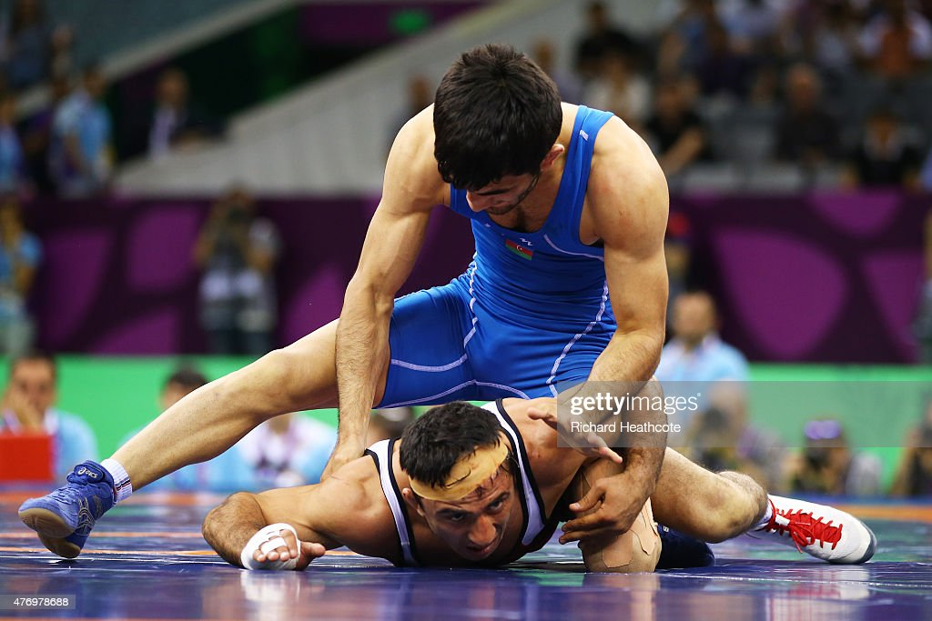 Wrestling Day 1: Baku 2015 - 1st European Games : News Photo
