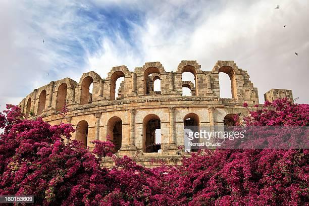 Roman amphitheater in El-Jem