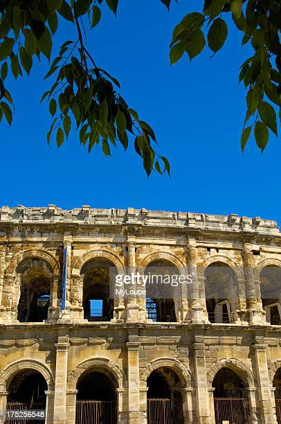 Roman amphitheatre Arenes Nimes Gard BouchesDuRhone France