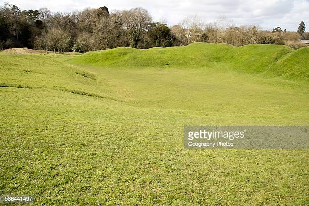 Roman Amphitheatre Cirencester Gloucestershire England UK