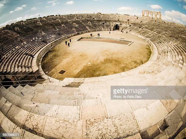 Roman amphitheatre in Verona (Italy)