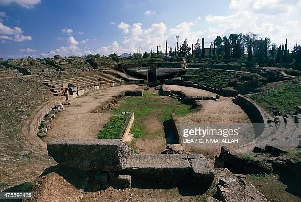 Roman amphitheatre of Merida Extremadura Spain