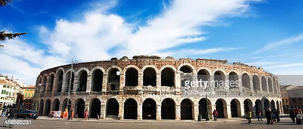 anfiteatro romano di verona, italia - verona foto e immagini stock