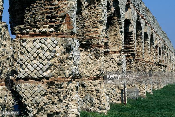 Roman aqueduct of Gier Chaponost RhoneAlpes France Roman civilisation 1st century AD