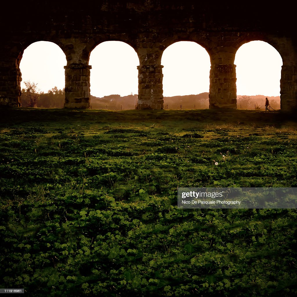 aqueducts a great roman achievement Nearly 30 military highways, all made of stone, exited the great city at one point, 372 roads connected 113 provinces due to the concrete structure, many of these roads survived more than a thousand years.