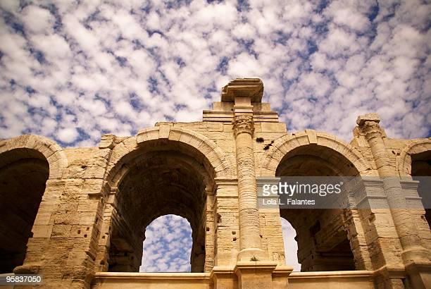 Roman arena in Arles.